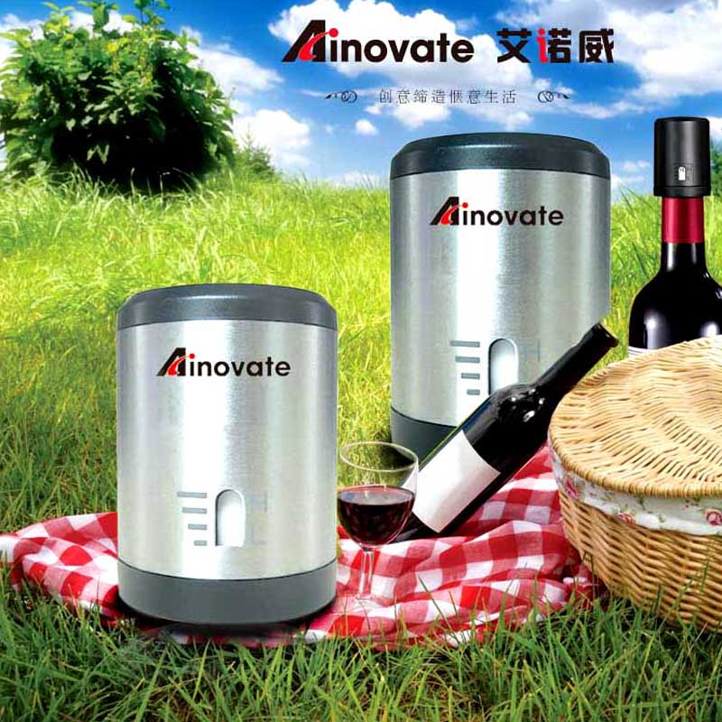 Wholesale easily use manual vacuum wine preserver for bar accessories