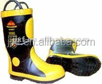 Safety Protective cheap Rubber Boots Fire resistant Shoes