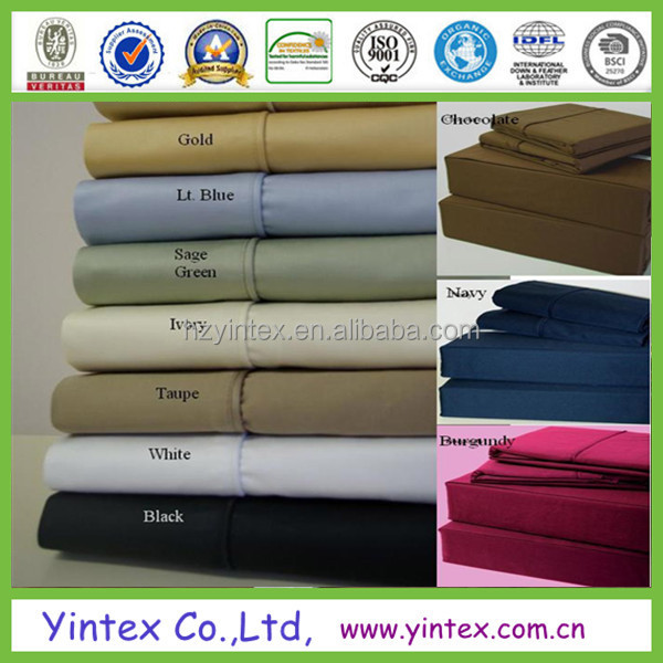 queen bed manufacter polyester commercial bed linen