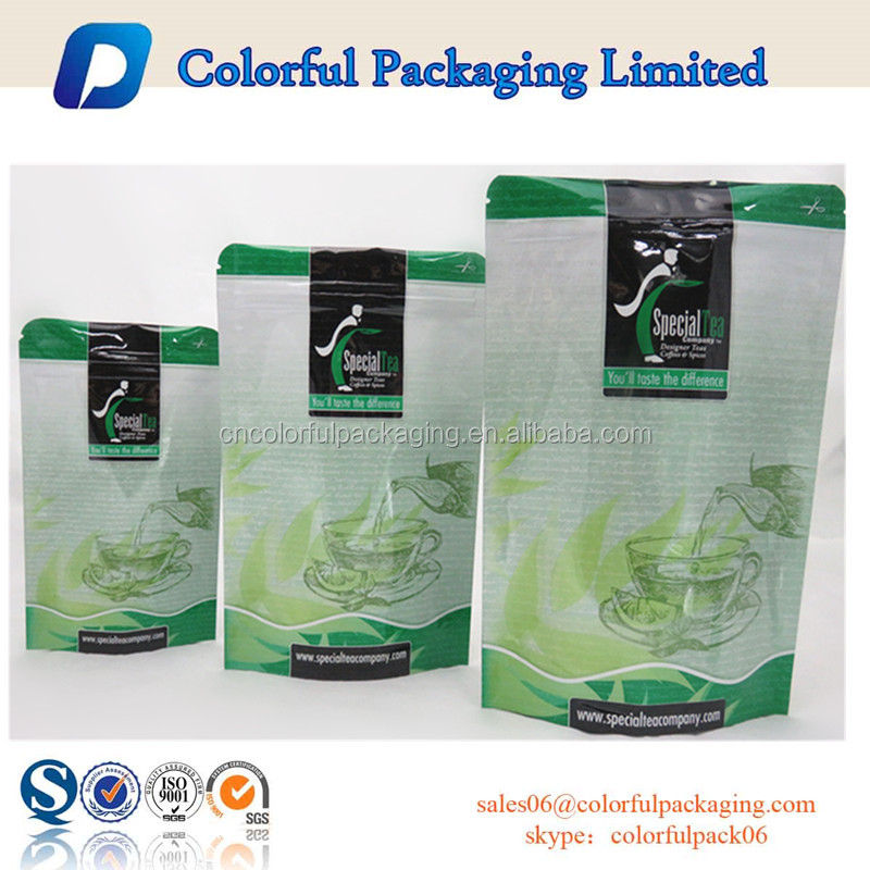 2016 bag plastic bag manufacturers green tea bag