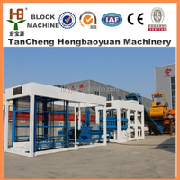 Hot-selling construction equipment QT10-15 automatic fly ash brick making machine with best quality and price (HONGBAOYUAN )