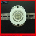 Large power high quality 10w flood lightig Warm white color led diode