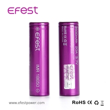 vaporizer mods new EFEST 18650 20amp battery IMR 18650 3500mAh 3.7V 35A battery, 18650 20a,18650 rechargeable batteries