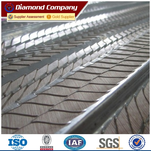expanded metal ribbed lath/High Ribbed Formwork/expanded metal rib lath
