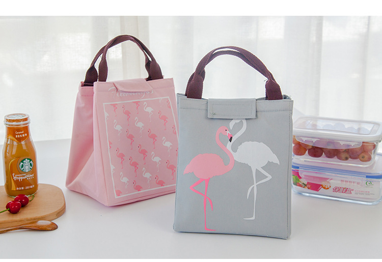 Waterproof Portable Cartoons Heat Preservation And Cold Holding Refrigerator Cooler Lunch Bag