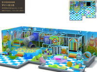 customized children's Indoor playground kids play hut of dream series equipment