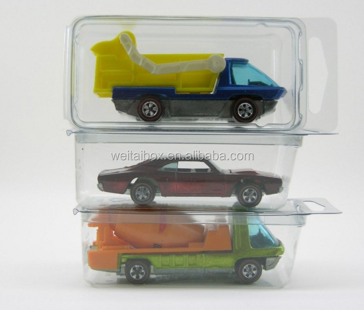 Hot Wheels Plastic Car Cases - MEDIUM Blister Boxes (Brand new clamshells)