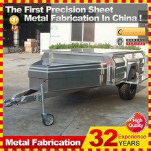 new design off road soft floor camper trailer with stainless steel kitchen