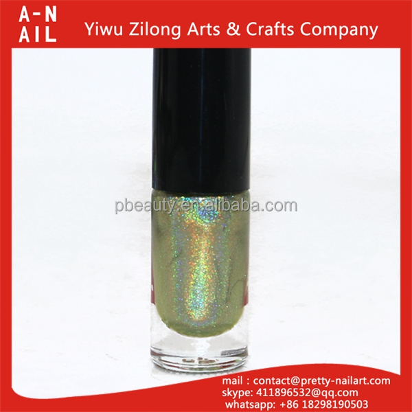 2017 New fashion Innocuous chrome nail polish with cheap price