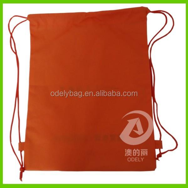 Non tessuto promozionale cordoncino doppio sacco, sacchetto promozionale Produzione produttori, fornitori, esportatori, grossisti