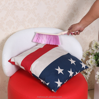 High quality long handle furniture colthes keyboard dust cleaning brush with soft brush fur