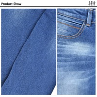 Wholesale Fashion Design Stretch Jean Fabric , Fabric Cotton