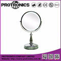JM938 LED lighting mirror table mirror standing mirror double side magnifying