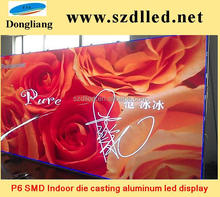 P6 SMD Indoor Die casting Aluminum Cabinet LED Display ! For Rental, High Quality And Factory Price!