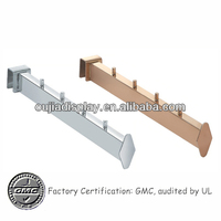 metal display arm/clothes display tube/garment display units