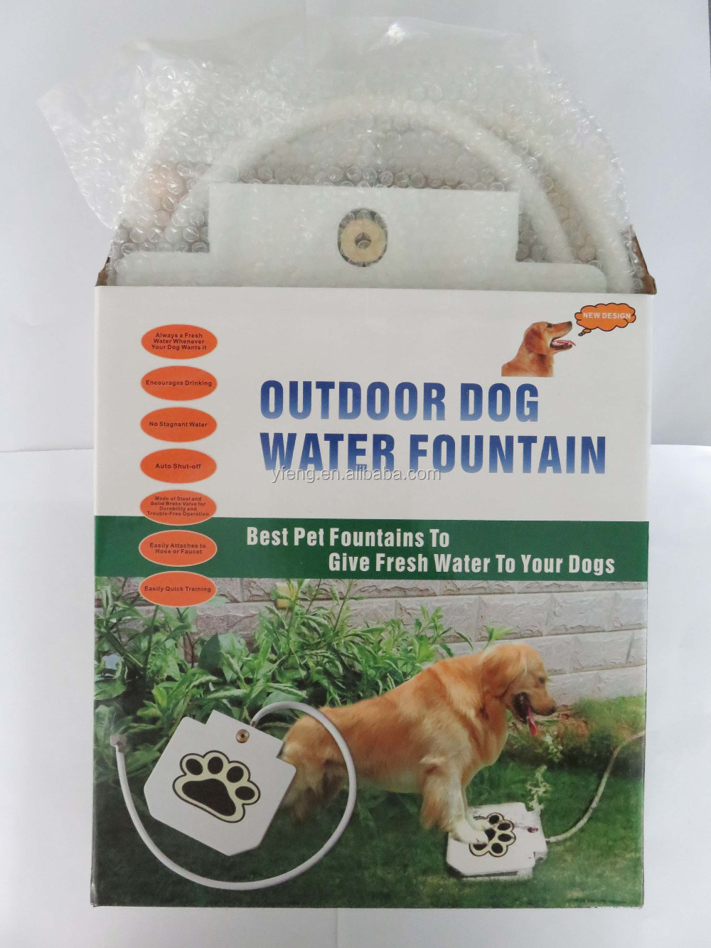 Best Style Spring Pedal Feeder Dog Water Fountain