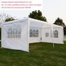 10'x20' Outdoor Event Wedding Party Tent Camping Shelter Gazebo Canopy with Sidewalls Easy Set Gazebo