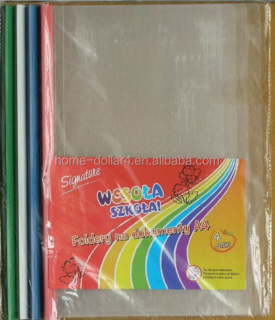 PROTECTORS FOR PAPER AND DOCUMENT STORAGE/PP PROTECTORS FOR SCHOOL AND OFFICE USE/4PC SHEET PROTECEORS