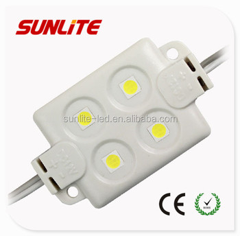 4-SMD5050 constant voltage 12V 1W Injection Module