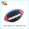 Custom logo print PU rugby ball with standard size F3