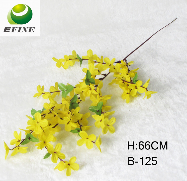 Factory Cheap Plastic Flower For Home Decoration