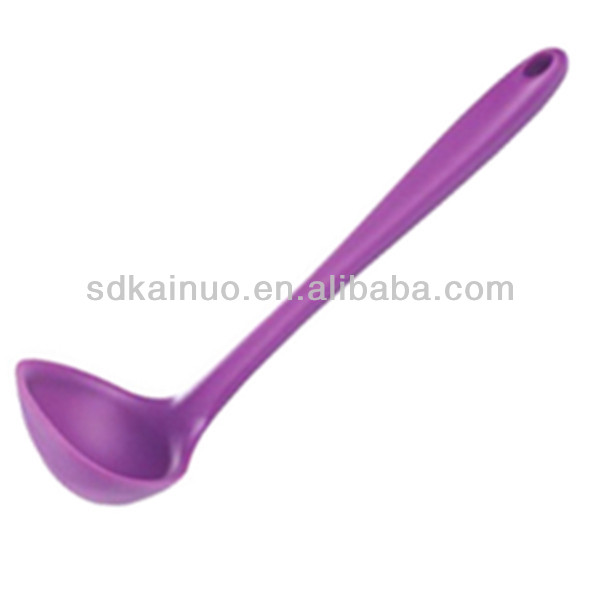 heat reistant durable kithcen silicone soup ladle