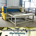 1600 model corrugated carton box rotary die cutting machine for pizza boxes
