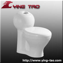 sanitary ware ceramic toilet bowl set floor mouted One piece water closet unique bathroom accessory set