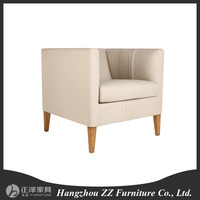 used leather club chair sofa