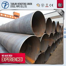 China manufacturer SSAW /welded carbon Spiral Steel Pipe used in Oil and Gas line