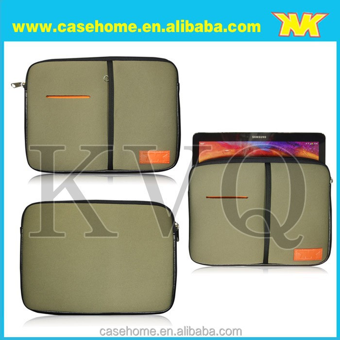 Hot Promotional custom neoprene tablet case sublimation,neoprene kids tablet case with handle