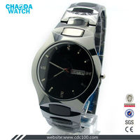high quality black sapphire watch swiss tungsten