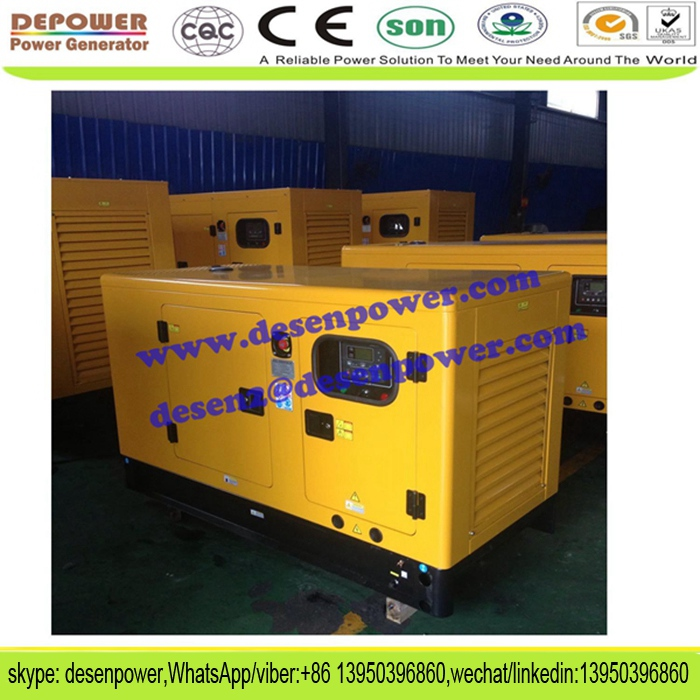 4cylinder chinese engine sound proof 18kva diesel generator price 15kw