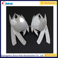 for mitsubishi l200 triton 2006 door handle insert abs chrome door handle bowls old triton auto accessories