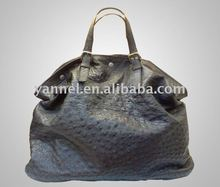 Women Ostrich handbag,fashion handbag_ostrich leather bag_exotic handbag