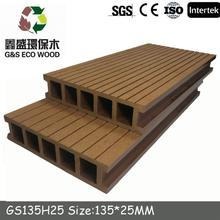 wpc exterior plastic composite decking for swimming pool