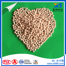 High quality Molecular Sieve 3A Sphere 3.0-5.0 mm for ethanol dehydration