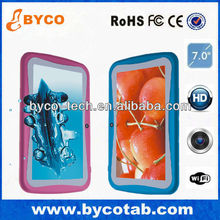 New arrival 7' tablet kids RK2926 RAM 512MB 4GB ROM 2 different UI for both parents and kids