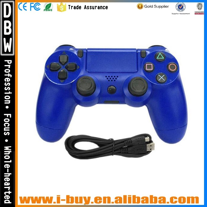 Wireless Bluetooth Sixaxis Game Controller for PS4 Gamepad Joystick