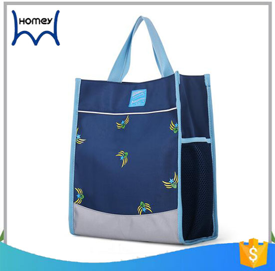 High quality new design plain outdoor school book bag for kids