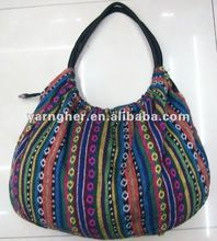 2012 cotton fabric fashion hmong handbags