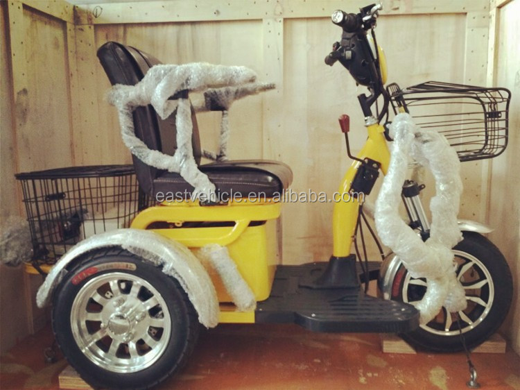 adult 3 wheel handicapped electric tricycle for india /mobility scooter/ electric tricycle 48V 350W motor