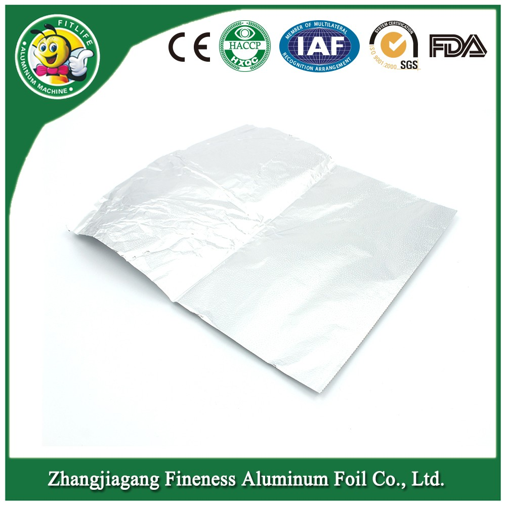 household aluminum foil sheet for barbecue