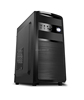 All Black Color Micro Computer case ,SD/TF carder inside Computer case ,2 CD Bays pc case -Micro-A
