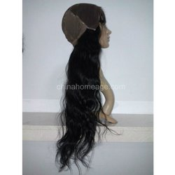 homeage beyonce style human hair long wig