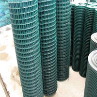 underquote green pvc welded holland fence