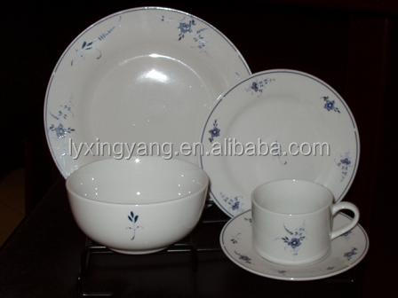 modern high quality bone china dinner set made in China