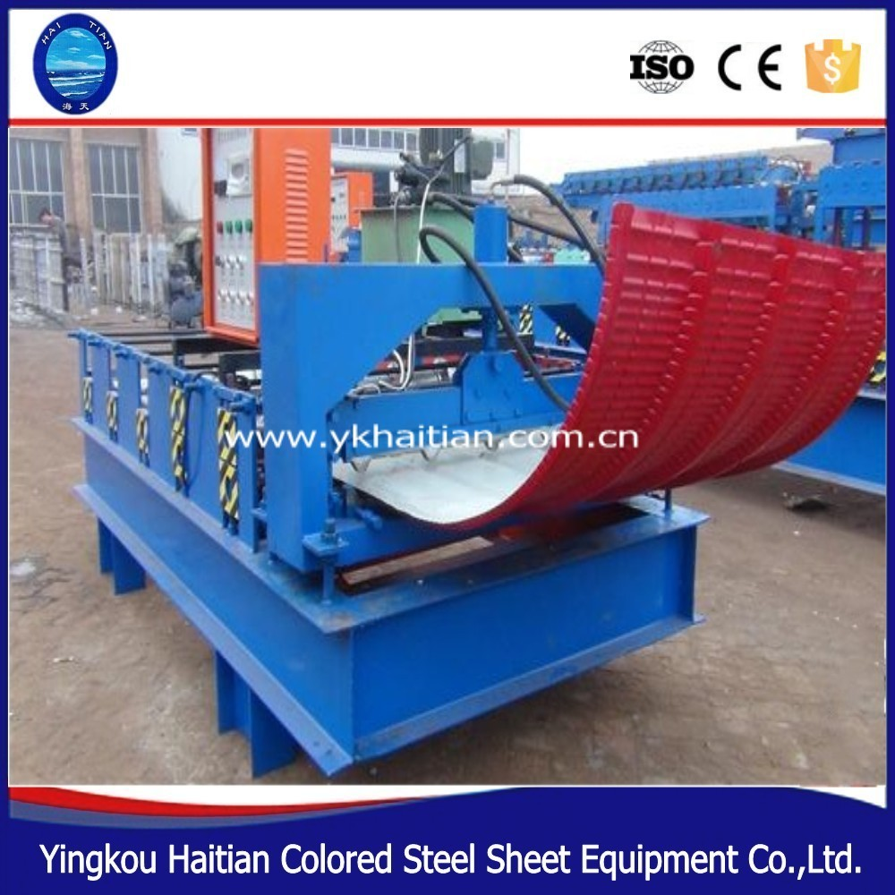 High quality roofing sheet crimping machine roofing curve machine