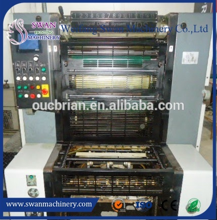 2017 most popular solna offset printing machine price of 75L Capacity