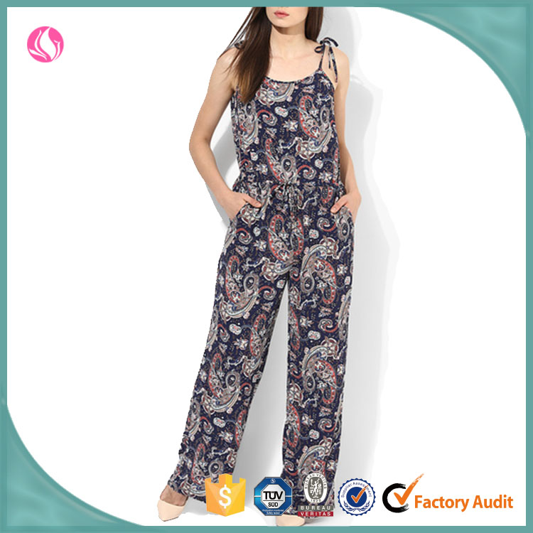 Ladies String Jumpsuit Womens Casual Latest Jumpsuit